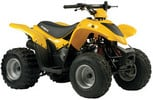 Kymco Mongoose KXR 90, KXR50 ATV Workshop Service Repair Manual
